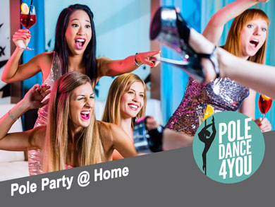 Pole Party @ Home - Poledance 4 You - Berlin